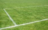 футбольное поле — Стоковое фото