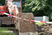 挖掘机 — 图库照片