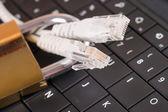 Bilgisayar suç — Stok fotoğraf