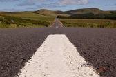 Azores road — Stock Photo