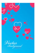 Valentines greeting card — Stock Vector