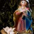Holy Mary and little Jesus — Stock Photo