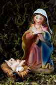 Santa maría y el niño jesús — Foto de Stock