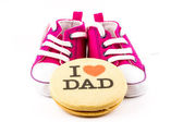 I love you dad — Stock Photo
