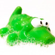 Crocodile children bath toy — Stock Photo