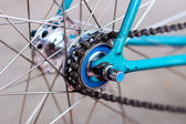 Bicycle chain — Stock Photo