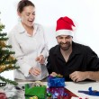 Preparing for Xmas — Stock Photo