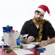 Stock Photo: Christmas Finances