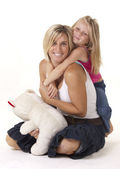 Mom and Daughter Love — Stock Photo