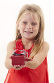 Gift time — Stock Photo