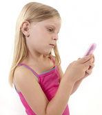 Smartphone Girl — Stock Photo