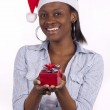 Young South African Santa — Stock Photo #7345657