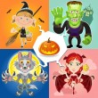 Halloween Characters — Stock Vector #13387606