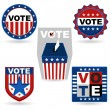 Royalty-Free Stock Vector Image: Election Emblem
