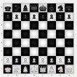 Chess Set - Stock Vector