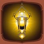 Eid Mubarak Lantern — Stock Vector #28708481