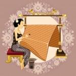 Постер, плакат: Traditional Indonesian Batik