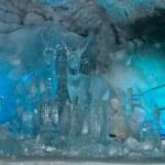 Glacier palace — Stock Photo