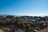 Lausanne overview — Stock Photo