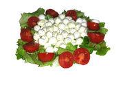 Caprese Vegetarian Salad — Stock Photo