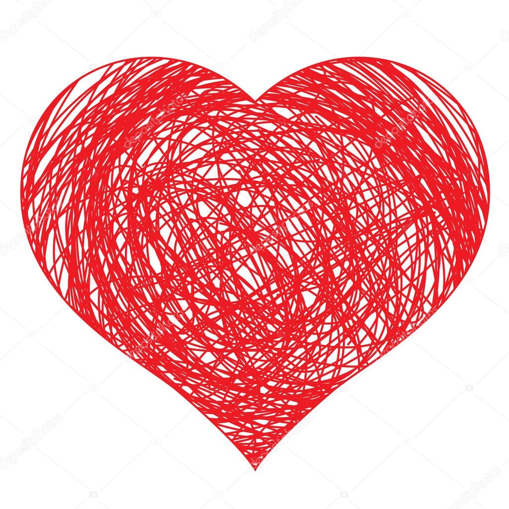 Heart Hands Drawing Hand Drawn Red Real Heart