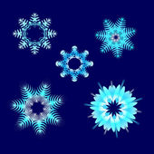 Snowflake01 — Stock Vector