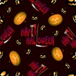 Halloween seamless pattern — Stockvector #33639957