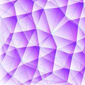 Triángulo azul 03 — Vector de stock