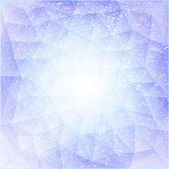 Triangle blue 09 — Vector de stock