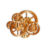 Gears mechanical 01 — Stock Vector