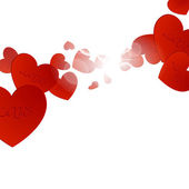 Valentine's day background — Stockvektor