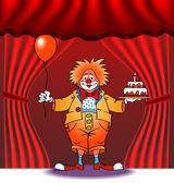 Clown02 — Stock Vector