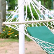 Swinging hammock - Stock Photo