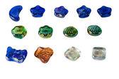 Multi-colored stones — Stock Photo