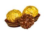 Chocolates redondos — Foto de Stock