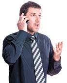 Phone conversation — Stock Photo