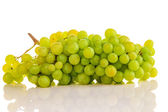 Beautiful ripe green grapes — Stock Photo