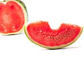 Ripe water-melon — Stock Photo
