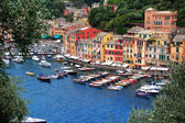 Portofino - An beautiful location a Ligurian coast — Stock Photo