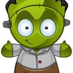 Frankenstein's Monster - Smile — Stock Photo