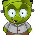Frankenstein's Monster - Happy — Stock Photo