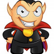 Vampire Mascot - Evil Smile — Stock Photo #12654939