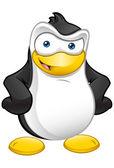 Penguin Mascot - Hands On Hips — Stock Photo