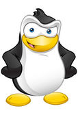 Penguin Mascot - Hands On Hips — Stock Photo