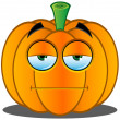 Stock Vector: Jack-o'-Lantern Pumpkin Face - 2