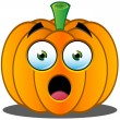 Jack-o'-Lantern Pumpkin Face - 1 — Stock Vector