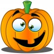 Stock Vector: Jack-o'-Lantern Pumpkin Face - 4