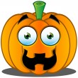 Stock Vector: Jack-o'-Lantern Pumpkin Face - 7