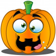 Stock Vector: Jack-o'-Lantern Pumpkin Face - 9