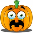 Stock Vector: Jack-o'-Lantern Pumpkin Face - 10